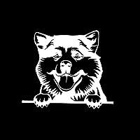 13.9cmx 12.1cm秋田カントリーレコールンステッカー剥離犬ビニールステッカーブラック/シルバー BJRHFN (Farbname : Silver)