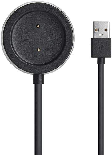 GEEMEE para Amazfit GTR 47mm(A1901)/42mm(A1909)/ Amazfit GTS(A1913) Cargador Cable, USB Smart Watch Charger Dock Estuche De Carga Adaptador De Cargador para Amazfit GTR/GTS