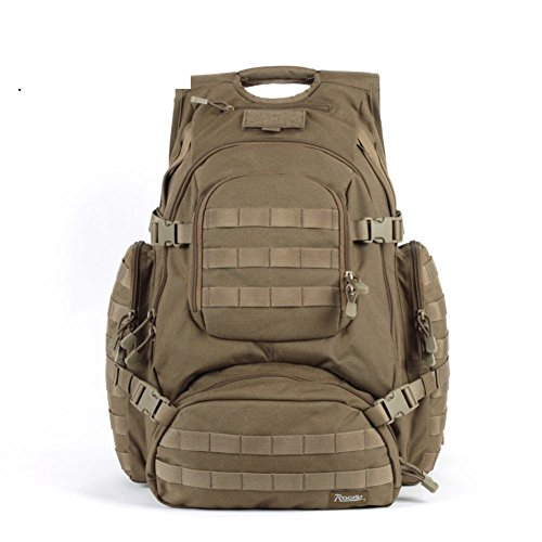 Sincere® Forfait / Sacs à dos / Portable / Ultraléger Noah ventilateurs militaires tactiques de camping-kits Khaki extension sac à dos de champ / extérieur 40L