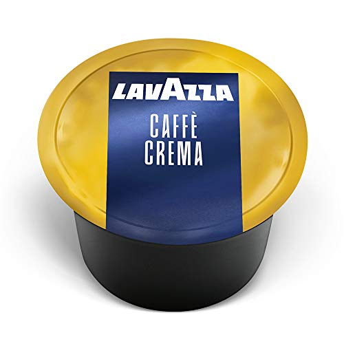 Lavazza Blue Single Espresso Caffe Crema Coffee Capsules (Pack Of 100) ,Value Pack, Blended and roasted in Italy, Sweet blend from its aromatic notes of biscuits and jasmine, 100% Arabica