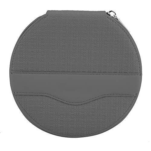 BLLBOO-CD Mini-Tasche-Auto Universal Round 24 Kapazität Disc CD VCD DVD Aufbewahrungskoffer Mini Bag Wallet(grau)