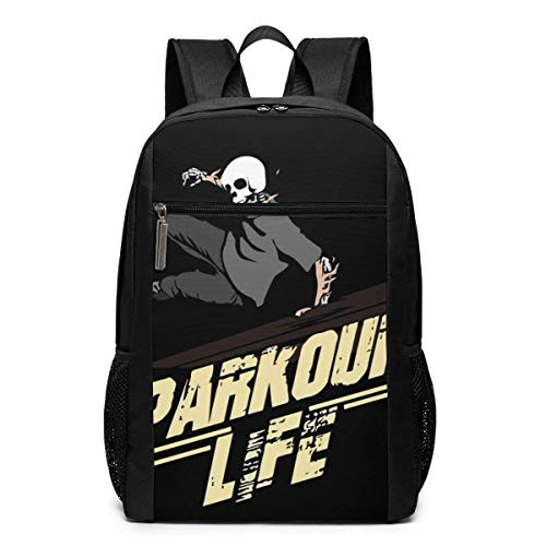 Unisex Rucksack Schädel Parkour Classic Fashion General Busin Bookbag