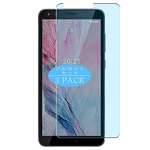 VacFun 3 Piezas Filtro Luz Azul Protector de Pantalla, compatible con Nokia C01 Plus, Screen Protector Película Protectora(Not Cristal Templado)