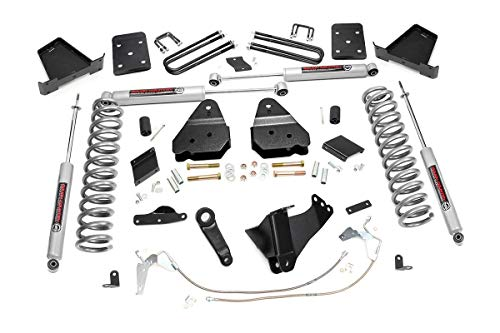 Rough Country 6' Lift Kit (fits) 2011-2014 Super Duty F250 4WD Diesel | N3 Shocks | Suspension System | 564.20