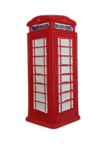 thomas benacci Imán para nevera con caja de teléfono de Londres, color rojo