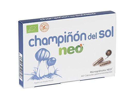 MICO NEO Champiñón del Sol Complemento Alimenticio - 60 Cápsulas (12004)