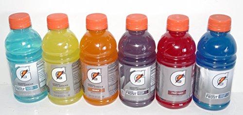 Gatorade Thirst Quenchers - 6 (12 oz.) Variety Pack - Fruit Punch, Cascade Crash, Glacier Freeze, Lemon-Lime, Orange & Riptide Rush