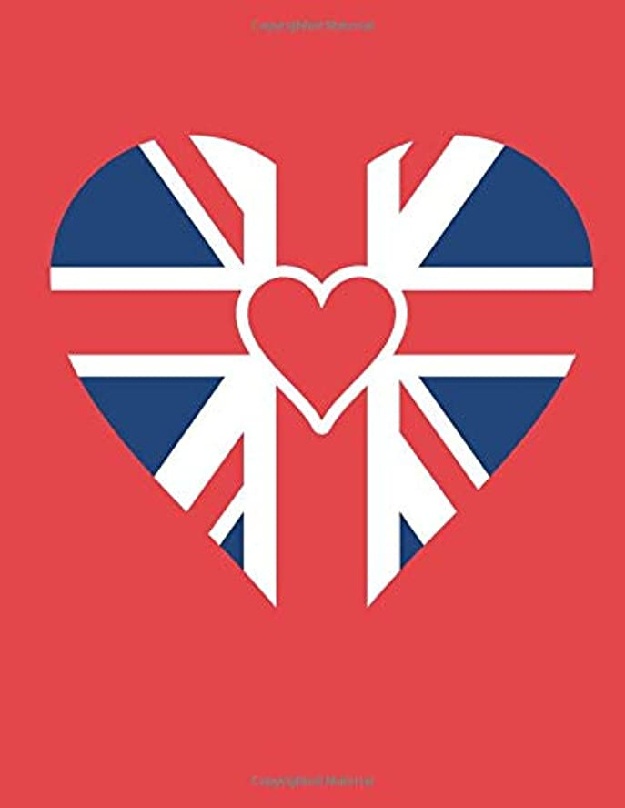 光の究極の雄弁家I love Britain: diary organiser journal  notebook Exercise emotions lecture pad exercise ledger poetry schoolbook study memo school university college high school writing tracker