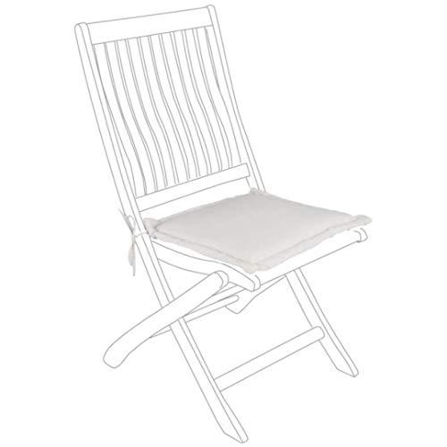 BIZZOTTO Coussin d'assise en poly Nat. 37 x 37 cm
