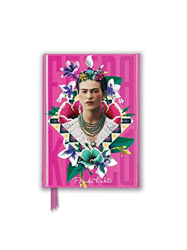 Frida Kahlo Pink (Foiled Pocket Journal) (Flame Tree Pocket Books) (Premium Notizbuch DIN A 6 mit Magnetverschluss)