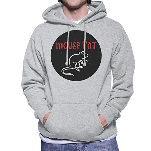 Cloud City 7 Mouse Rat Logo Parks en Rec Sweatshirt met capuchon voor heren