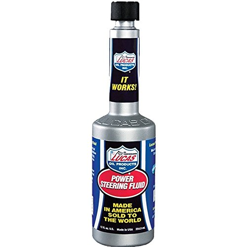 Lucas Oil 10823 Power Steering Fluid - 12 oz. (Quantity 10)