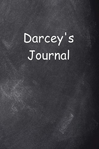 Darcey Personalized Name Journal Custom Name Gift Idea Darcey: (Notebook, Diary, Blank Book)