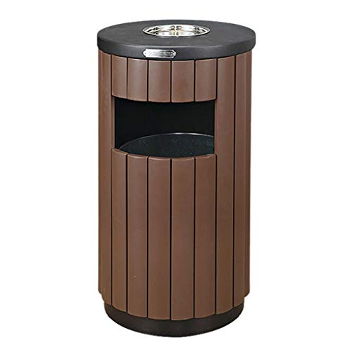 Hkw-shop outdoor vuilnisbakken vuilnisbak buiten vuilnisbak met asbak open top binnen kast metaal industriële afvalcontainer commercieel afval Bin
