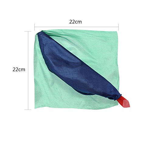 Scarves Color Changing Silk Hanky Props Scarf for Trick Streets(2 Pieces)