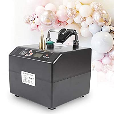 Electric Air Balloon Pump, B231 Electric Balloon Pump,Manual/Automatic Balloon Inflator Portable Long Balloon Air Pump,Balloon Inflator Air Blower Pump w/Timer Battery,for Party Events Decoration
