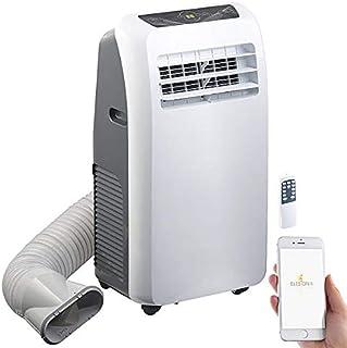 Sichler Haushaltsgeräte Mobile Klimaanlage WiFi: Klimaanlage, Heiz-Funktion, 12.000 BTU/h, 3.500 W, WLAN, App-Steuerung Klimagerät WLAN