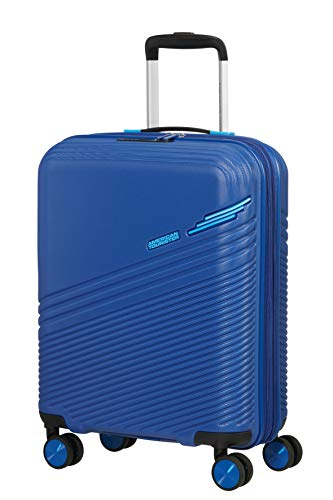 American Tourister Triple Trace Luggage- Carry-On Luggage, S (55 cm - 46 L), Blau (Navy/Blue)
