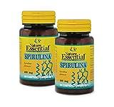 NATURE ESSENTIAL | Espirulina 400 mg | 100 Comprimidos (Pack 2 unid.)
