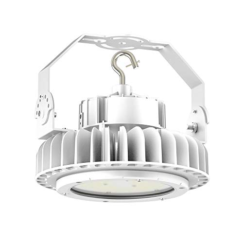 Adiding 150W LED High Bay Light White 5000K Daylight (for 12 to 16ft Ceiling, 650W HID/HPS Replacement) 1-10v dimmer IP65 Waterproof Garage Warehouse Workshop Gym cUL Premium Listed 6-Year Warranty