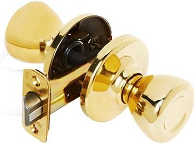 Kwikset 92001-280 Tylo Hall/Closet Knob in Polished Brass