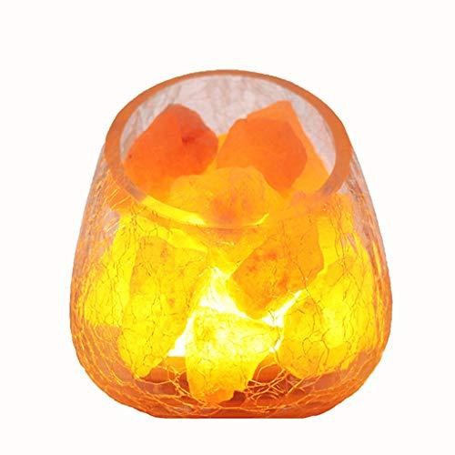 Luminaires & Eclairage/Luminaires intérieur/EC Lampe de sel Chambre à Coucher lumière de Cristal Naturel Lampe Himalayan Mine Lampe LED Night Light Lampe de Chambre créative Lampe à la Main en cri
