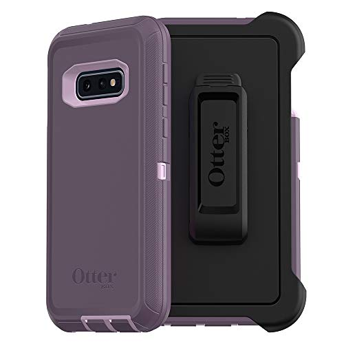 OtterBox DEFENDER SERIES SCREENLESS EDITION Case for Galaxy S10e - PURPLE NEBULA (WINSOME ORCHID/NIGHT PURPLE)
