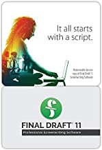 Final Draft 11 - Professional Screenwriting Software for Television, Film, Stage, & Graphic Novel Scripts - Version 11 - Full Program
