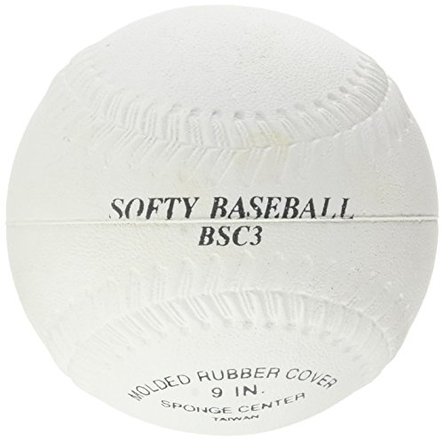 Softee Equipment 0011210 Pelota Béisbol, Unisex, Blanco, S