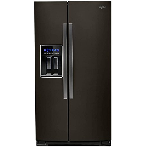 Whirlpool WRS588FIHV 28 Cu. Ft. Black Stainless Side-by-Side Refrigerator