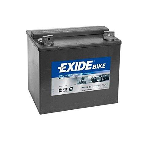 Exide Bike Batterie Motorrad GEL12-30 - 12V - 30Ah - 180A EN