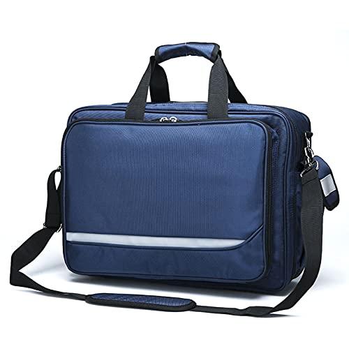 Massage-AED Erste Hilfe Tasche Leer Groß,Erste-Hilfe-Rucksack Tasche Leerer Notfall Rote Erste-Hilfe-Medizinrucksäcke, Wasserdichtes Notfall-Rettungsset Für Den Außenbereich