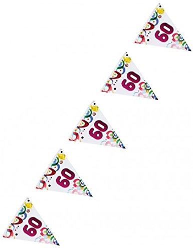 Guirlande anniversaire 60 ans (6 m)