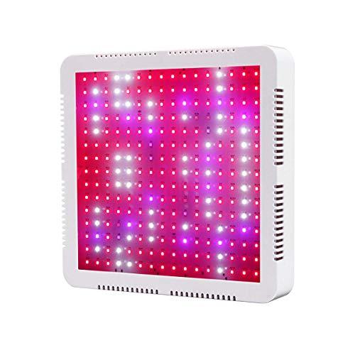HYDL Lámpara de Cultivo de Plantas 40W, LED Grow Light, Led Grow Light Espectro Completo Sunlike LED Lámpara de Crecimiento para Plantas Invernadero hidropónico Veg y Flor