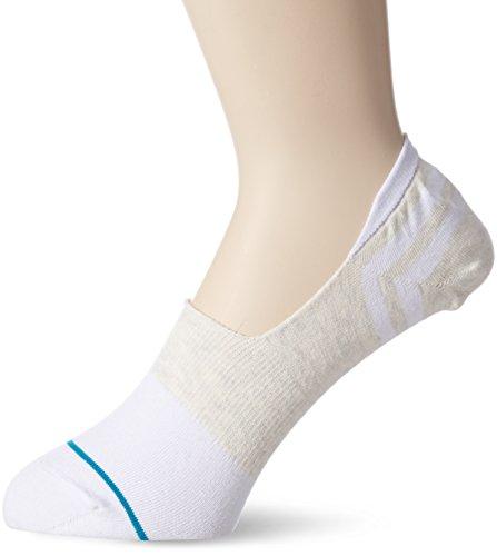 Stance Gamut Super Invisible Socks - White Large