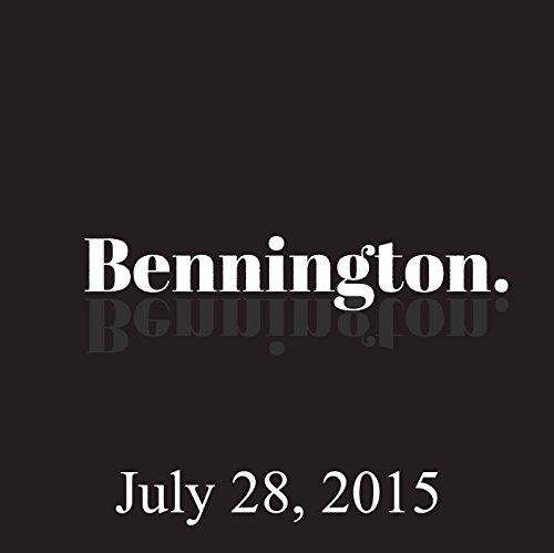 Bennington, Jay Pharoah and Mike Eagle, July 28, 2015 audiobook cover art