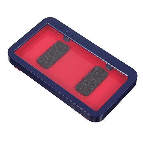 EXCEART Suporte Do Telefone de Montagem Na Parede Do Chuveiro Soco Livre- Touchable Telefone Prateleira Do Banheiro Chuveiro Do Banheiro À Prova D' Água Caixa de Armazenamento de Suporte