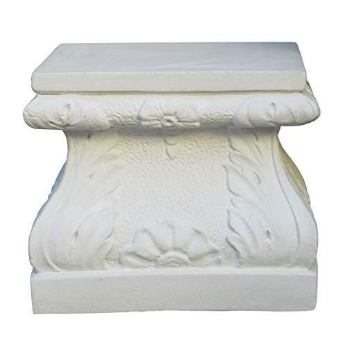 STONE art & more Pedestal Mercurio rectangular, para estatuas o macetas, altura...