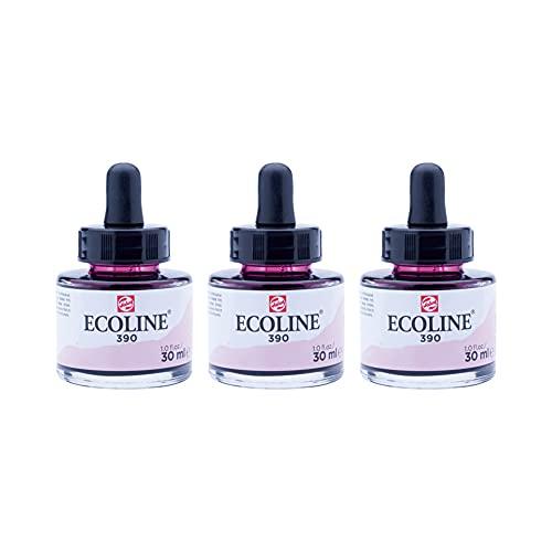 Aquarela Líquida Ecoline Talens 30ml 390 Rose Pastel