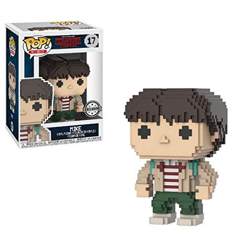 Funko Pop Mike 17 8-bit Stranger Things Serie TV Figure 9 cm Exclusive #1