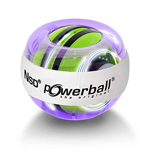 Powerball Kernpower Hand- und Armtrainer The Original Multi-Light - mit patentiertem Autostart, blau bluepurple, 069