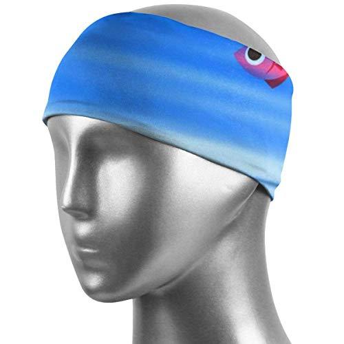 CHISHANG Banda para el cabello unisex Banda para el sudor deportiva Banda para deportes subacuática para correr, andar en bicicleta y hacer ejercicio