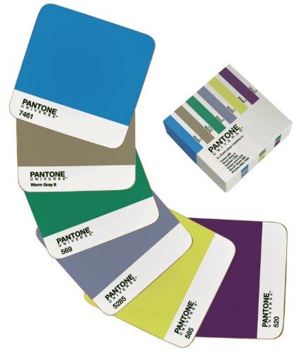 Pantone Universe Coasters, Set of 6