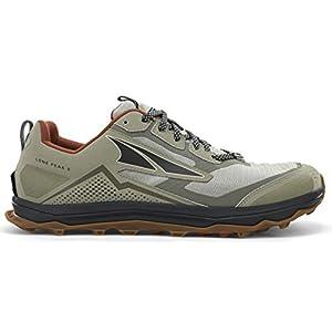 ALTRA AL0A4VQE Men's Lone Peak 5 Trail Running Shoe, Khaki - 10 M US