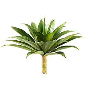 "Silk Flower Arrangements Velener Artificial Agave Succulent Plant for Indoor & Outdoor Décor (28"" x 28"" x 22"", Big Size)"