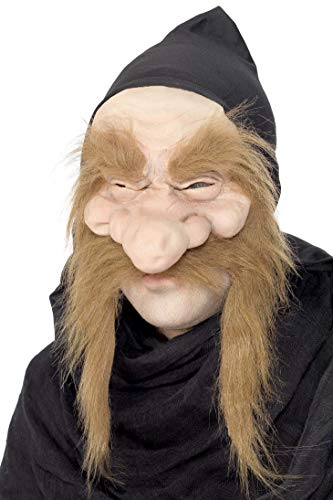 Halloween! Smiffys Maske Goldgräber, Halbgesicht, Latex