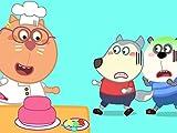 Wolfoo Hides Birthday Cake Of Kat