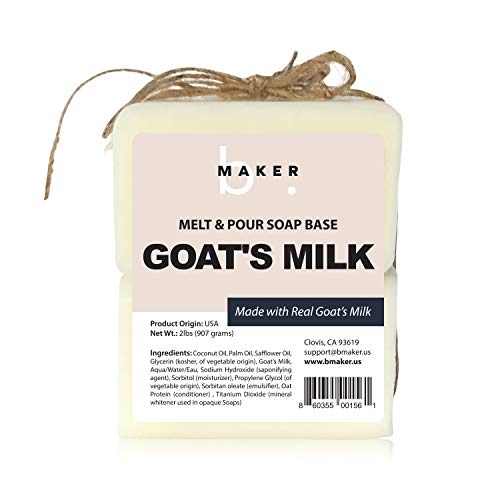 All-Natural Goats Milk Melt and Pour Soap Base