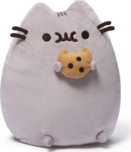 GUND Pusheen Snackables Cookie Plush Stuffed Animal Cat, 9.5'