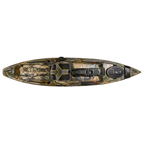 Ocean Kayak Trident 11 Angler Kayak - Sit-On-Top Brown Camo, One Size